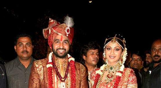 Shilpa Shetty And Raj Kundra Wedding
