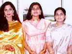 Shamili and Shalini with their Mother